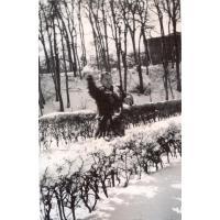 Nauczyciel matematyki, Bitwa na śnieżki przed szkołą ul. Książąt Pomorskich, lata 50. XX w.