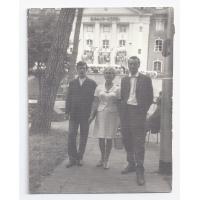 Andrzej Łucja i Ryszard Kałużni, 1969 r.