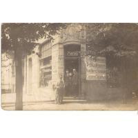Sklep kolonialny prowadzony przez Arję Krzykalo, Sopot lata 20. XX w.