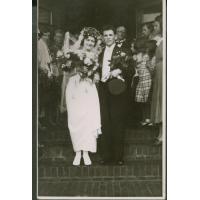 Ślub Elżbiety Colbe i Jana Biangi,02.07.1936 r.