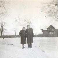 Jadwiga i Roman Szwemińscy, Łazienki Południowe, Sopot l. 50. XX w.