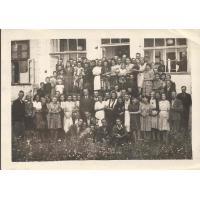 Zarząd Miejski m. Sopotu na dożynkach, Wielkie Żuławy 12. 08. 1945 r