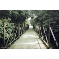 Mostek przy ul. Obrońców Westerplatte, Sopot 1976 r.