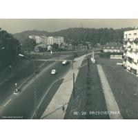 Róg Malczewskiego i Niepodległości, Sopot 1960 r.