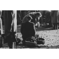 Rynek w Sopocie, lata 60. XX w. Autor Ryszard Petrajtis