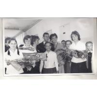 Dzień nauczyciela w SP 1, Sopot 10. 1964 r.
