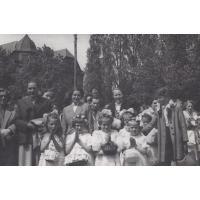 Procesja Bożego Ciała, Sopot, 1954 r.