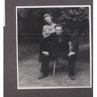 Alicja i Józef Niewęgłowscy, Sopot 1949 r.
