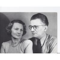 Alicja i Józef Niewęgłowscy, Sopot 1950 r.