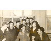 Klasa XI B I Liceum Ogólnokształcące w Sopocie 06.12.1960 r.