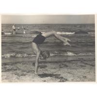 Gimnastyczne umiejętności, Sopot 1951 r.