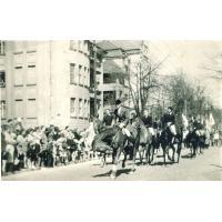Karol Rómmel (pierwszy na koniu), Sopot lata 60. XX w.
