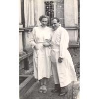 Irena i Innocenty Wieloszewscy, Sopot lata 50, XX w.