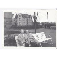 Henryk Krzyżanowski z Antonim Nożyńskim, Sopot 1968 r.