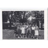 Klasa V b ze Szkoły Podstawowej nr 3, Sopot 1954 r.