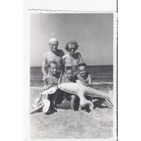Rodzina Krzyżanowskich, Sopot 1954 r.