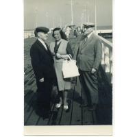 Ks. Władysław Młyński, Maria i Leon Młyńscy, Sopot 1967 r.