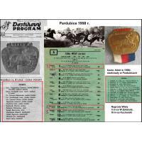 Skład ekip i koni, które startowały w Pardubicach w 1958 r.