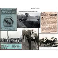 Skład ekip i koni, które startowały w Pardubicach w 1957 r.