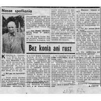Wywiad z Jerzym Zaniewskim, 1967 r.