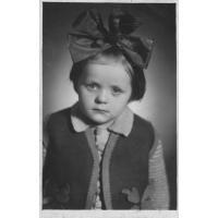 Krystyna Kozłowska z d. Bielińska r.1947, mama pani Keller z d. Kozłowskiej
