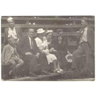 Rodzina Milewskich w czasie okupacji w Warszawie