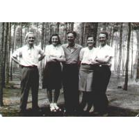 Ćwiczenia w Nieborowie, lata 30. XX w.