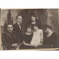 Rodzina Rzążewskich i Ferenczowiczów.