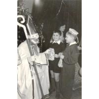 Maciej i Włodzimierz Foltyn, Sopot, Szkoła Podstawowa nr 7,  lata 50. XX w.