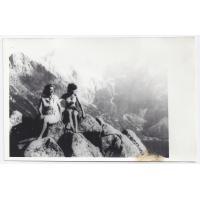 Marta Szabuniewicz z córką w górach