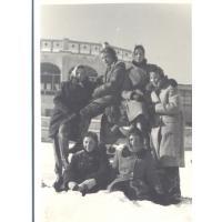Wagary na Placu Kuracyjnym, Sopot 1956 r.