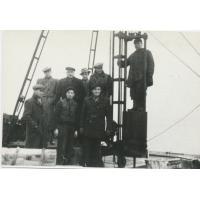 Odbudowa mola koniec lat 40. XX w.