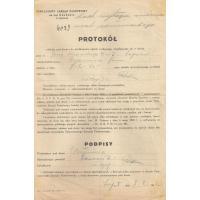 Protokół, Sopot 1946 r.