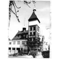 Remiza w trakcie modernizacji, Sopot lata 70. XX w.