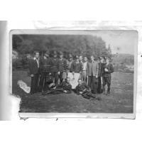 Strażacy na strzelnicy, 1955 r.