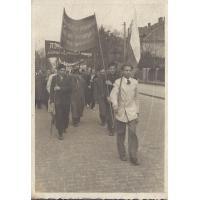 Pochód pierwszomajowy, Sopot 1947 r.