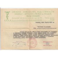 List gratulacyjny dla Waldemara Zajczonko