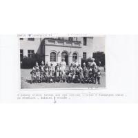 Dzień Dziecka w Prewentorium Przeciwgruzliczym  przy ul. 23 Marca, Sopot 1954 r.