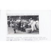 Dzień Dziecka w Prewntorium Przeciwgruzliczym, Sopot 01.06.1954 r.