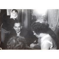 Wojciech Korzeniewski chory na świnkę, Sopot lata 50. XX w.
