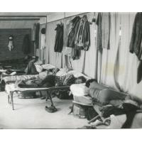 Nocowanie w czasie zawodów, lata 70. XX w.
