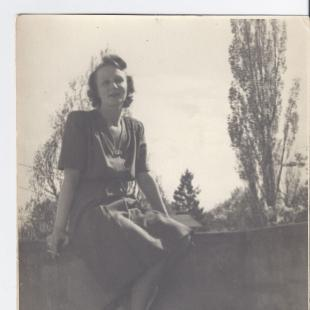 Alicja Niewęgłowska, Sopot 1948 r.