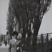 Wanda Wójtowicz na Alei Niepodległości, Sopot lata 60 XX w.